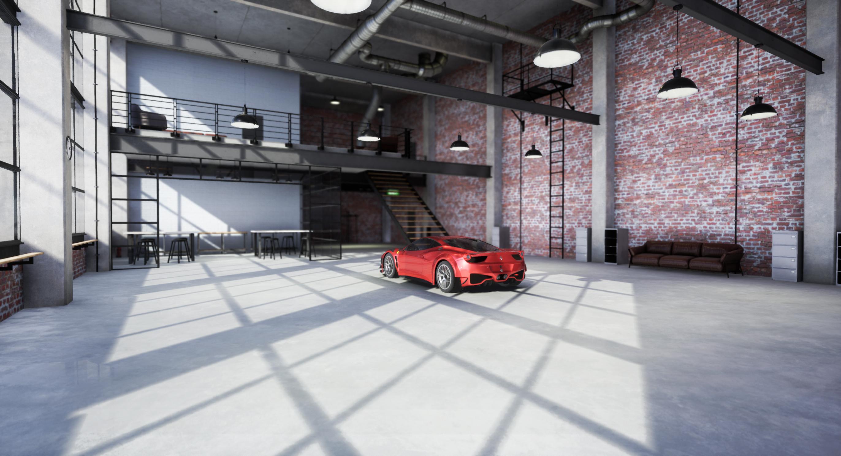 Virtual Showcar